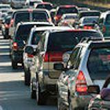 Die Stuttgarter Straße mit großem Verkehrsaufkommen