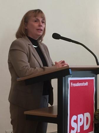 Freudenstadts Bürgermeisterin Dr. Hentschel